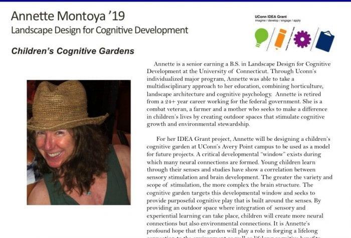 Annette's IDEA Grant Bio