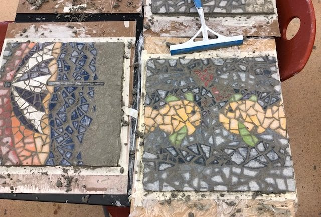 Grouting - work in progress