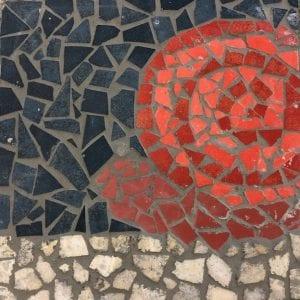 Snail mosaic