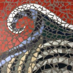 Wave mosaic