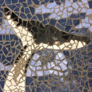 Whale tail mosaic