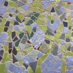 Seagrass mosaic