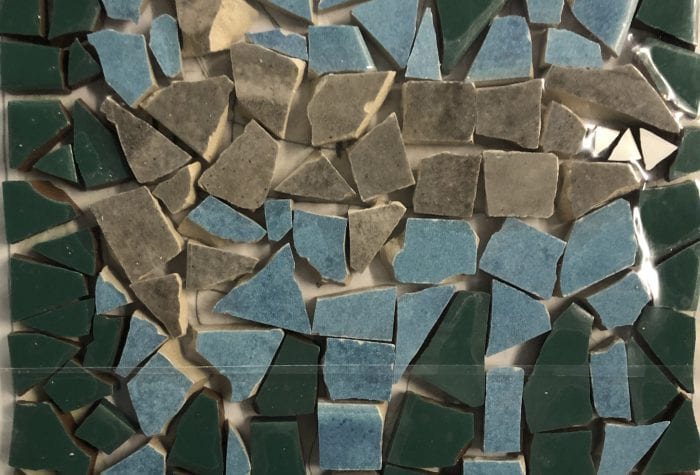 NHAMS shark mosaic, pregrout
